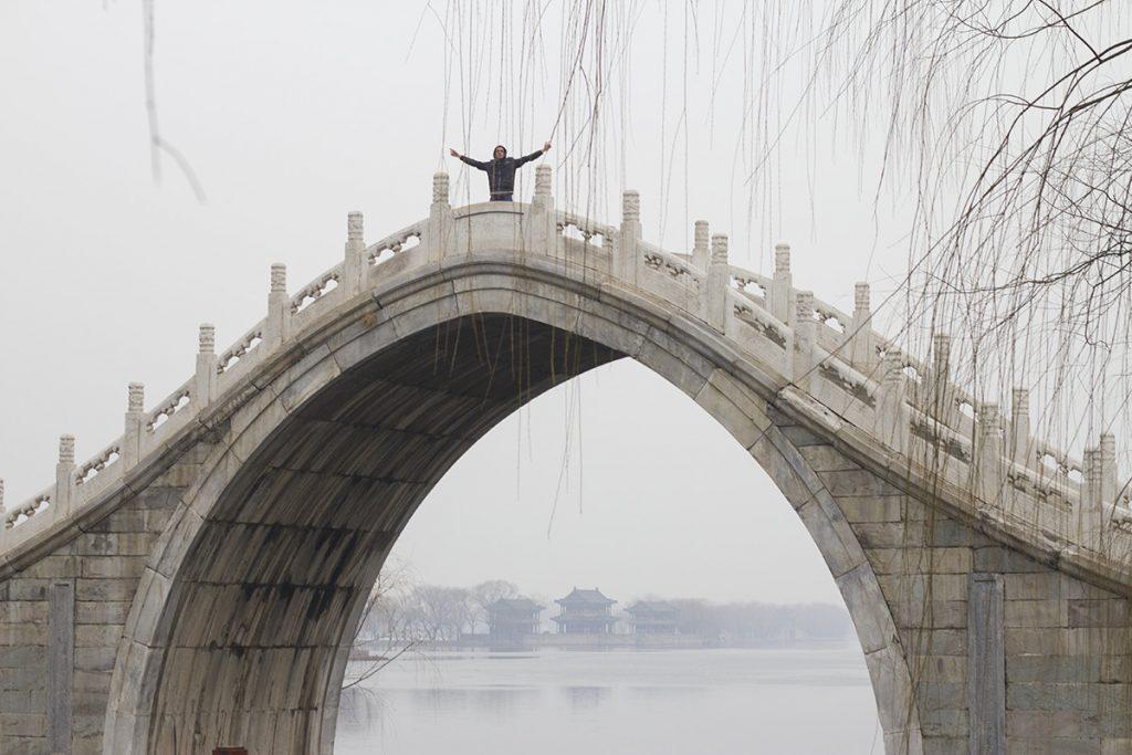 Rob on bridge