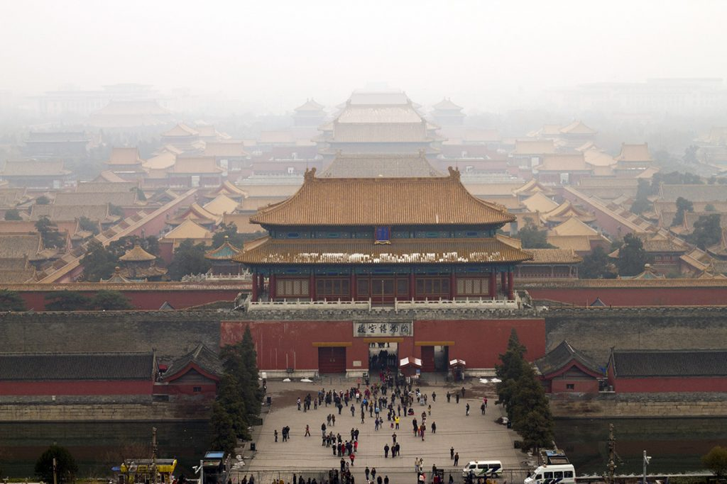 Beijing rooftops