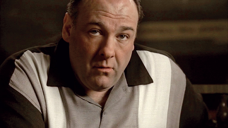 Final shot of The Sopranos