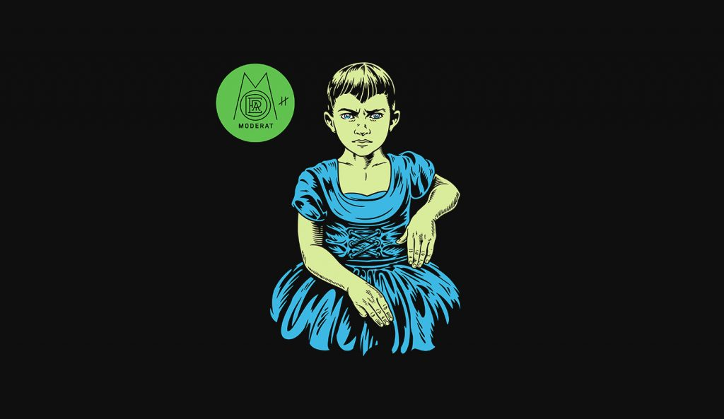 The cover artwork for Moderat's 'III'.