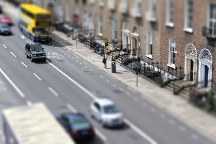 Lesson Street Tilt Shift