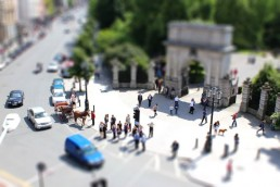 St. Stephen's Green Tilt Shift